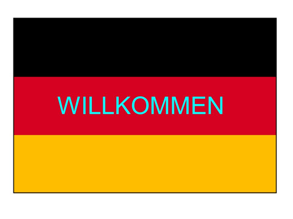 By the end of today's lesson You will know where to find some important information in the text book You will know what is expected of you in German lessons You will have learnt how to say hello and goodbye in German