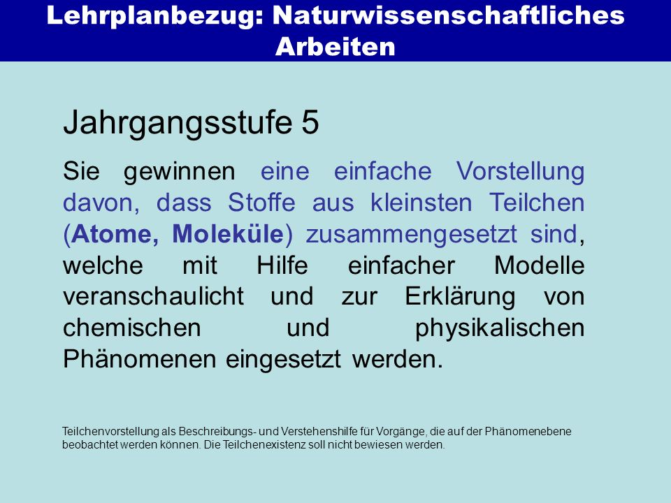 Lösen / Mischen Trennen Diffusion / Osmose Aggregatzustände, Schmelz-/Siedetemperatur NuT 5.