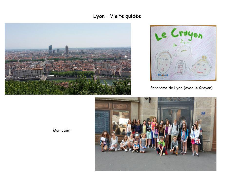 Lyon – Visite guidée Mur peint Panorama de Lyon (avec le Crayon)