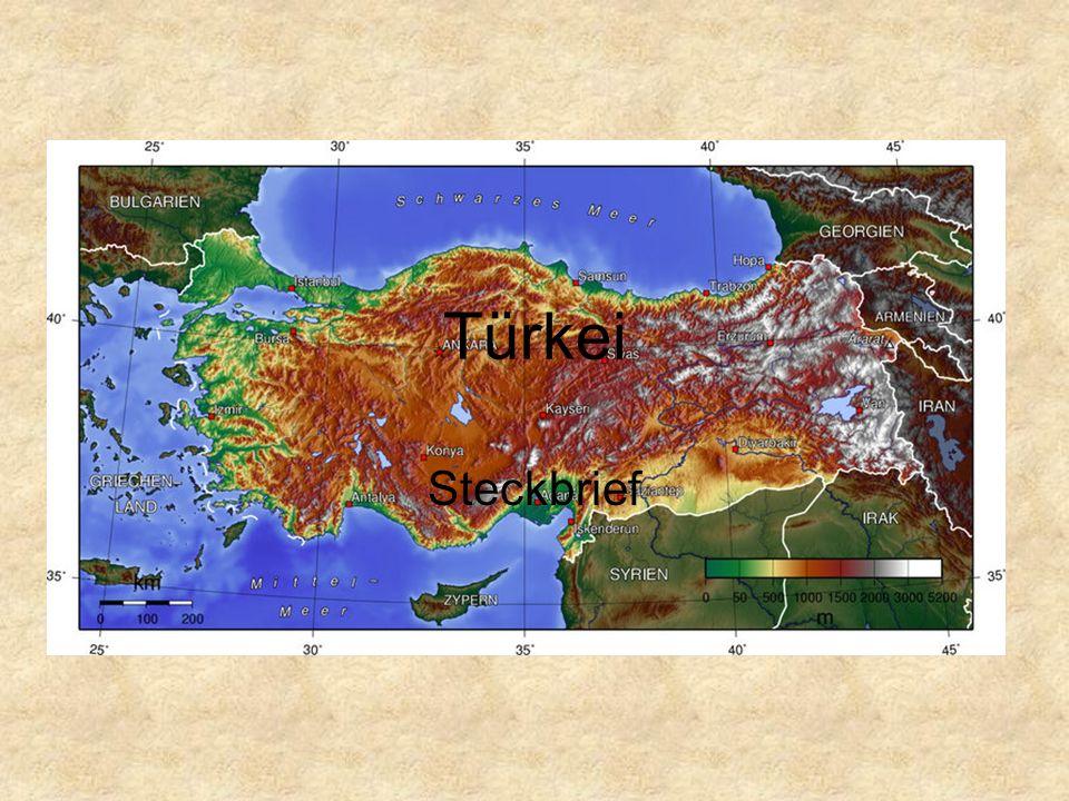 Türkei Steckbrief