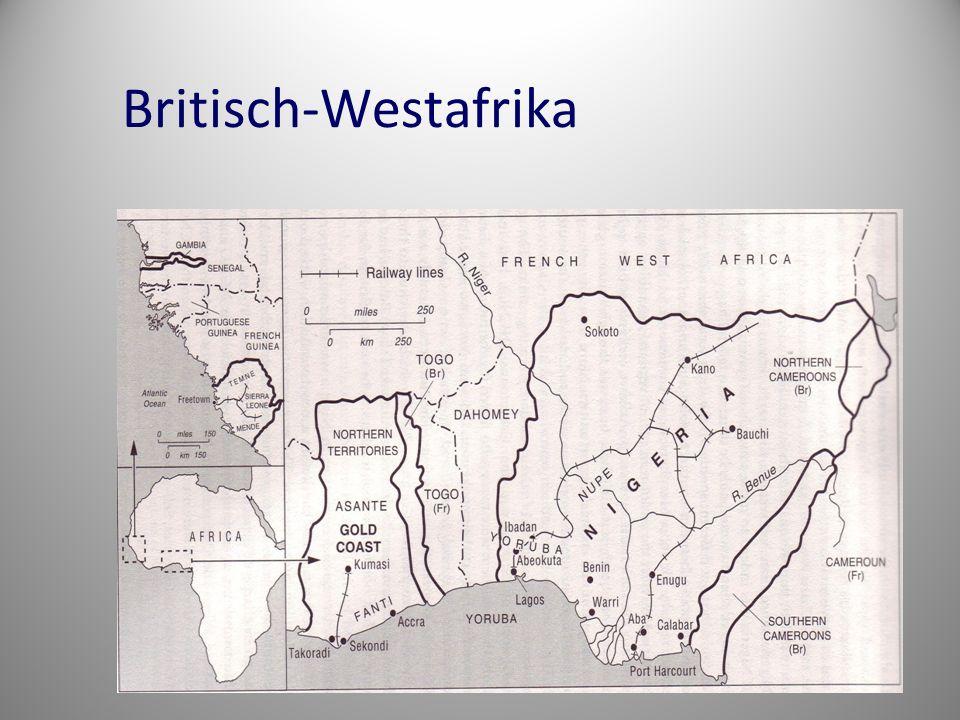 Britisch-Westafrika
