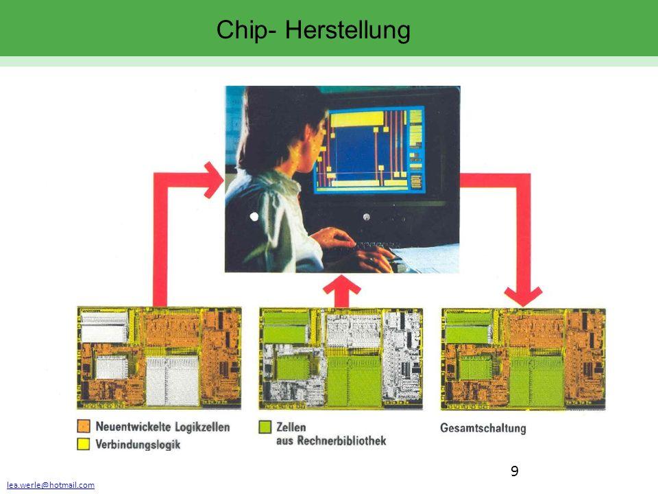 lea.werle@hotmail.com 9 Chip- Herstellung