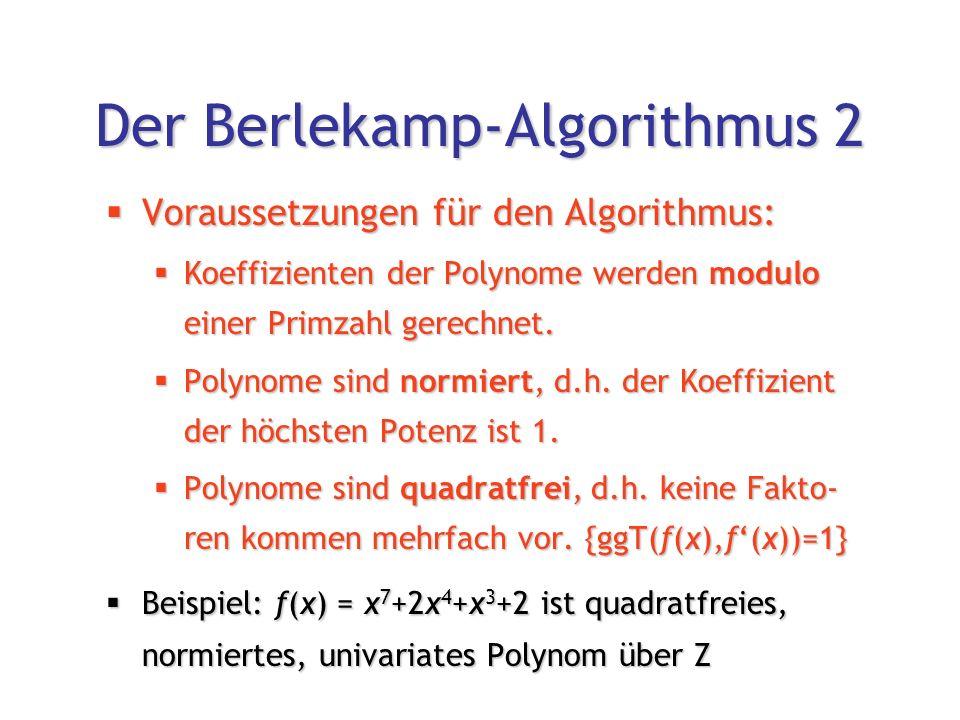 koeffizienten bestimmen polynom