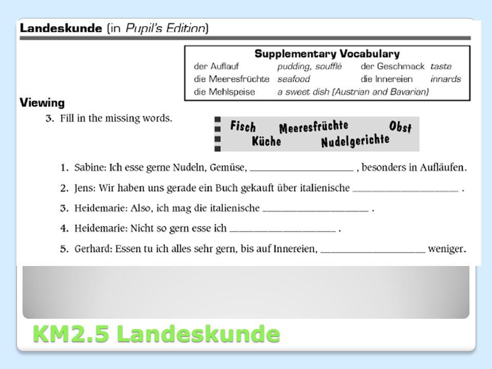 KM2.5 Landeskunde