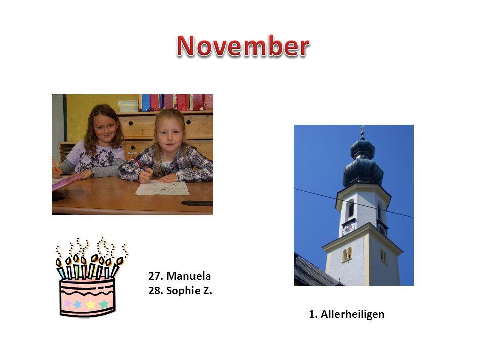 11. Leonie Elternsprechtag 21. Winteranfang Weihnachtsferien