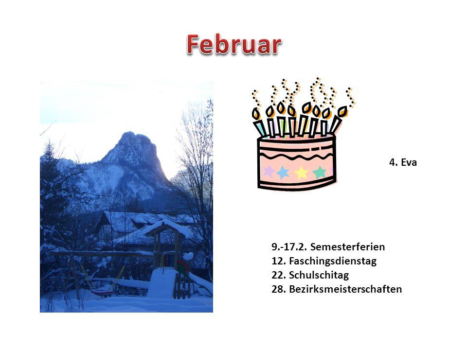 1.+8.+15.ASVÖ 10. Emilie Geb. 11.+12. Schikurs Annaberg mit 2.Kl.