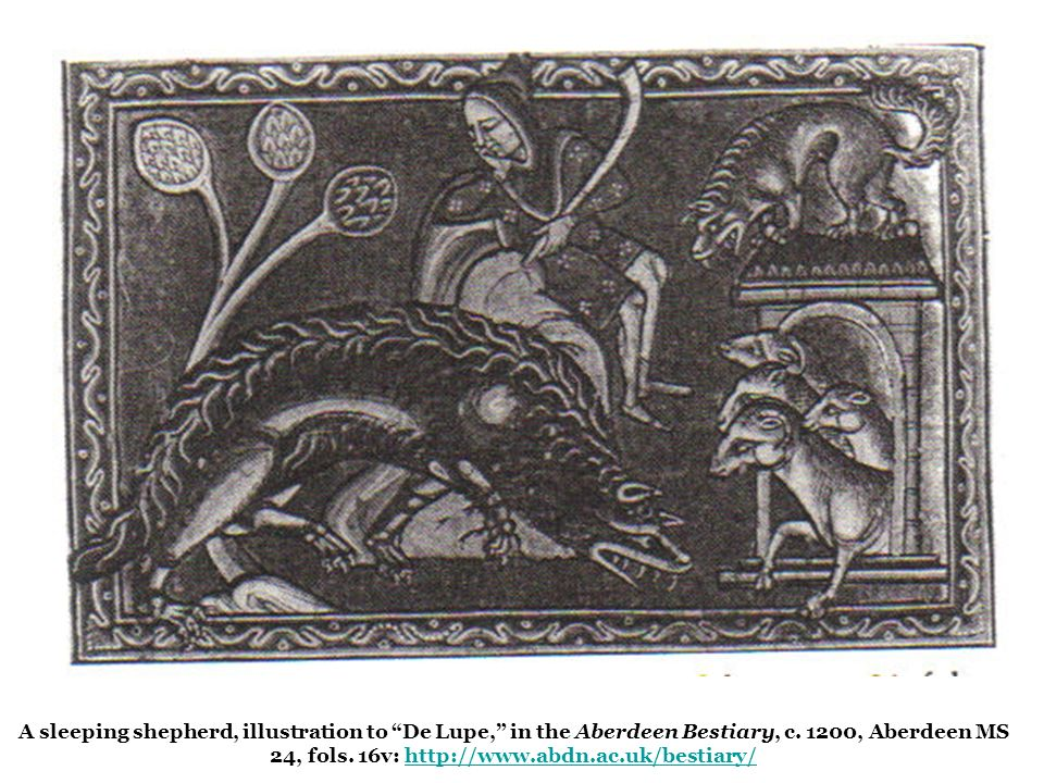 Captured fugitive serfs with horns, early 14th c.