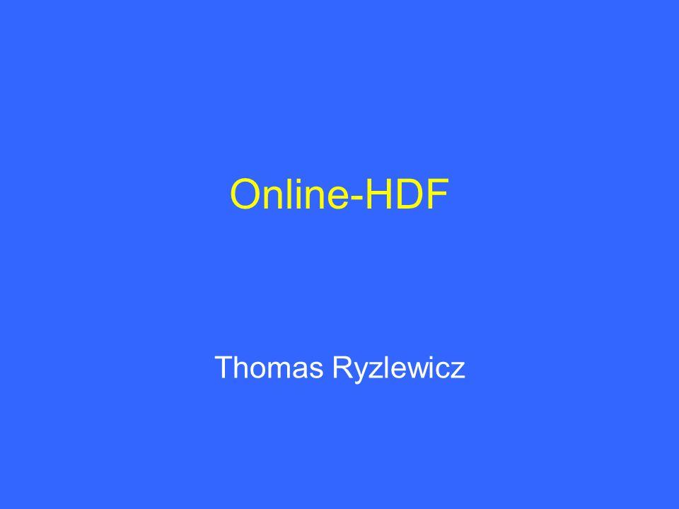 Online-HDF Thomas Ryzlewicz