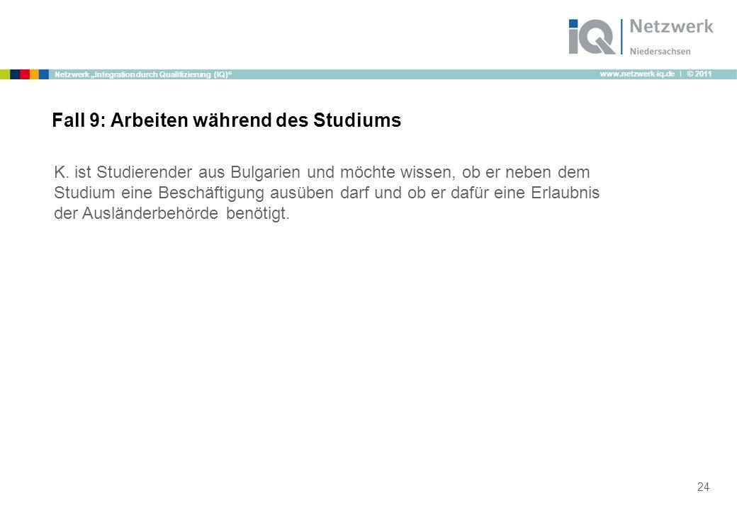 """www.netzwerk-iq.de I © 2011 Netzwerk """"Integration durch Qualifizierung (IQ) K."""
