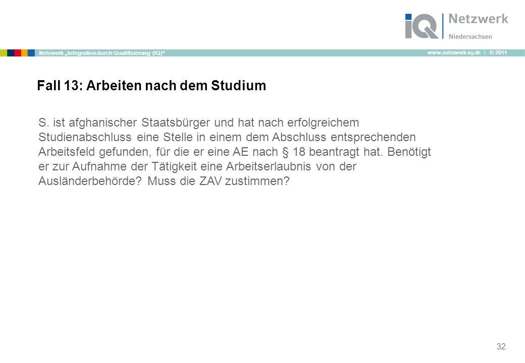"""www.netzwerk-iq.de I © 2011 Netzwerk """"Integration durch Qualifizierung (IQ) S."""