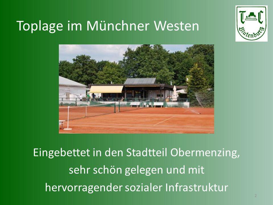 Tradition im Münchner Westen 3 Über 80-jährige Vereinsgeschichte Tradition, Geselligkeit, Familienerlebnis, Breitensport, Leistungssport, Teamgeist