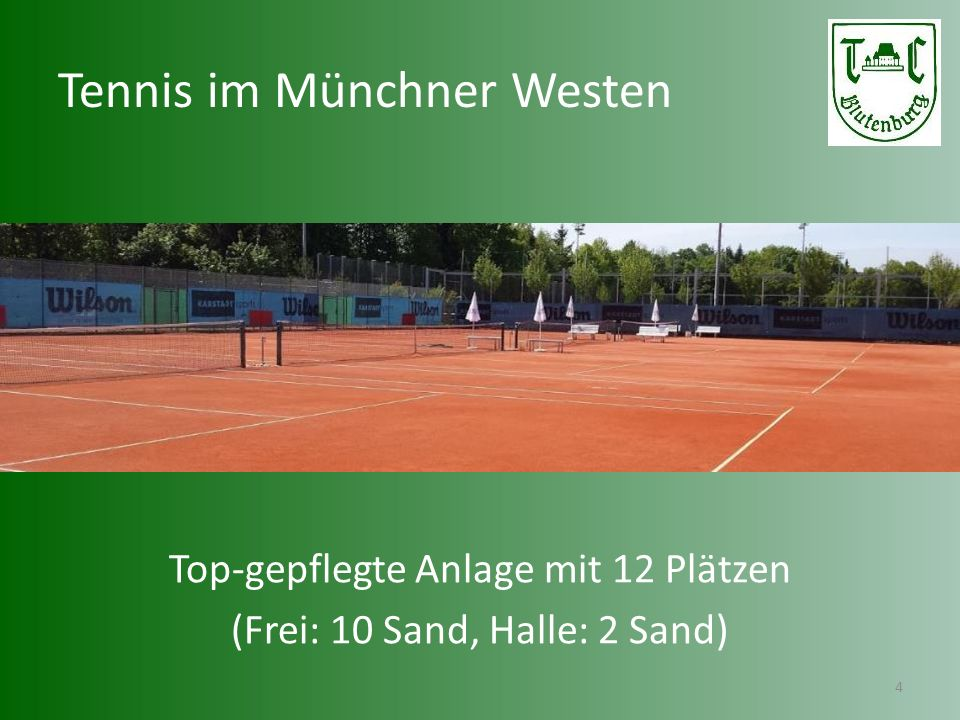Jugend im Münchner Westen 5 Über 700 Mitglieder, davon 200 Kinder & Jugendliche Erfolgreiches Trainings- und Jugendförderungskonzept