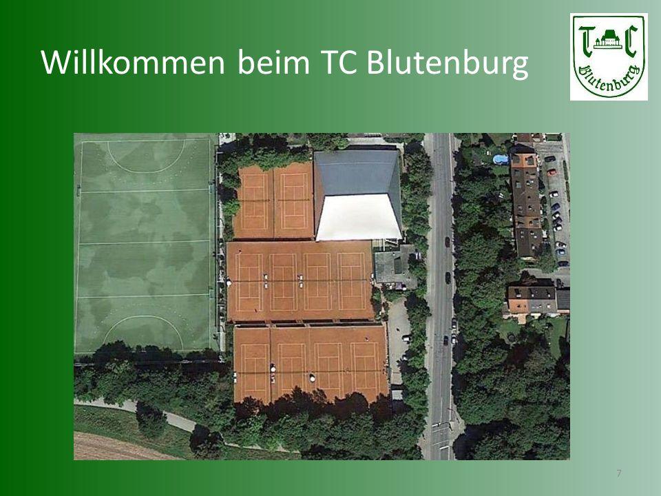 Lage des Tennis-Club Blutenburg 8