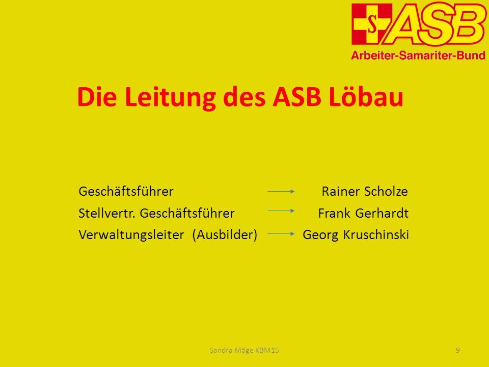 Die Leitung des ASB Löbau Geschäftsführer Rainer Scholze Stellvertr.