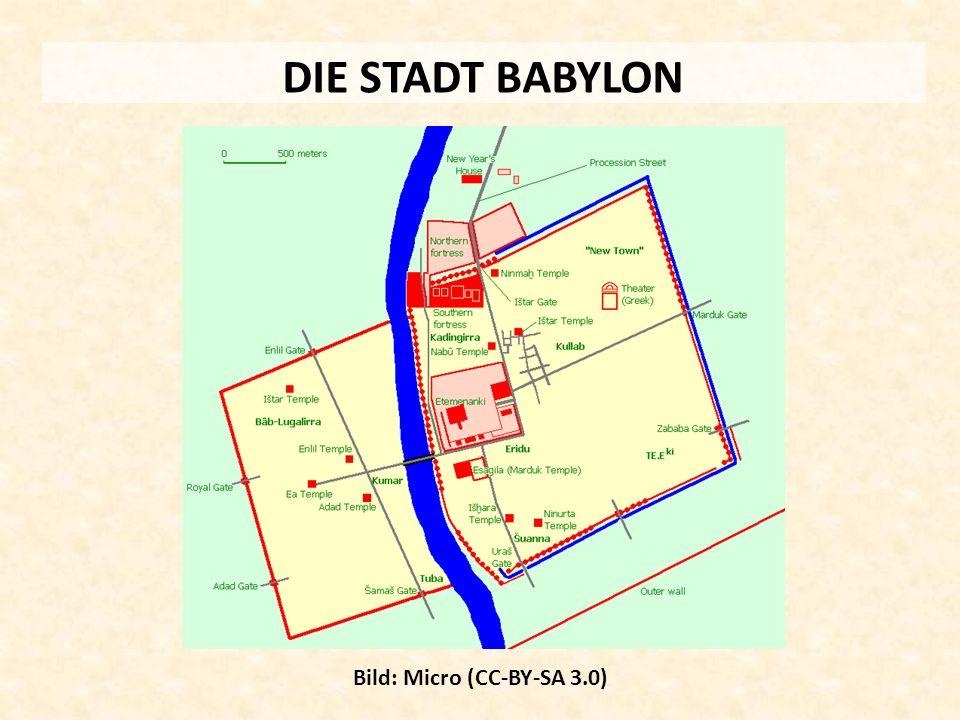 DIE STADT BABYLON Bild: Micro (CC-BY-SA 3.0)
