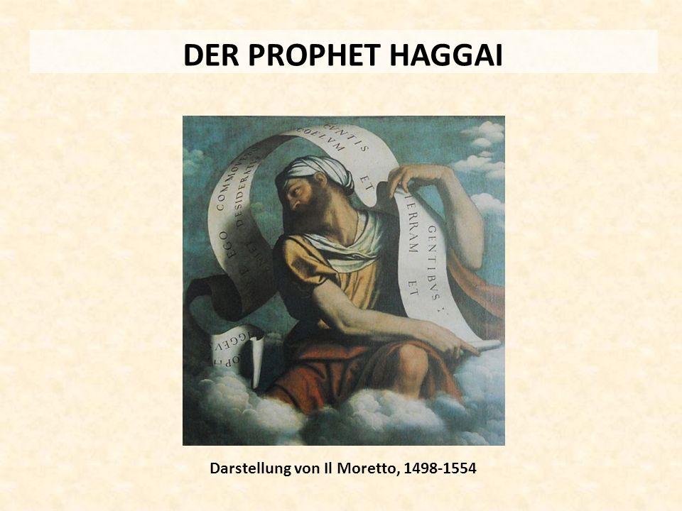 DER PROPHET HAGGAI Darstellung von Il Moretto, 1498-1554