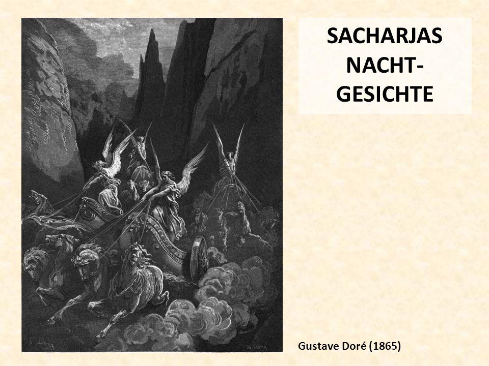 SACHARJAS NACHT- GESICHTE Gustave Doré (1865)