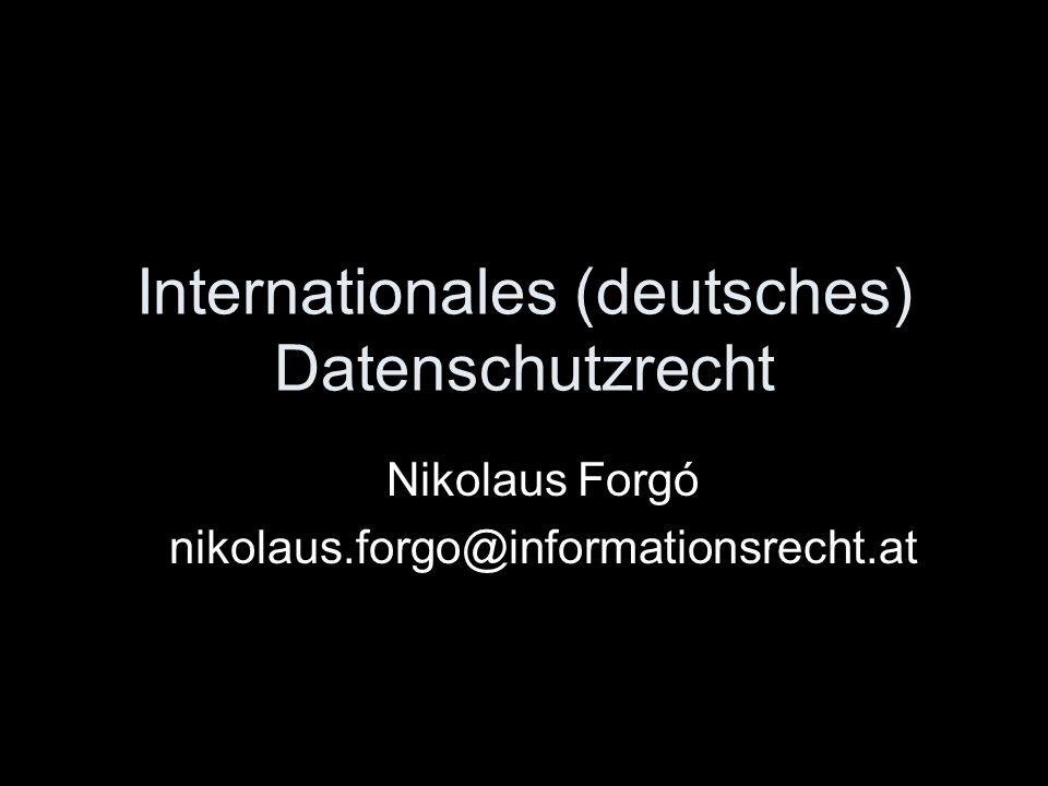À propos EuGH EuGH C 518-07 Die Bundesrepublik Deutschland hat gegen ihre Verpflichtungen aus Art.