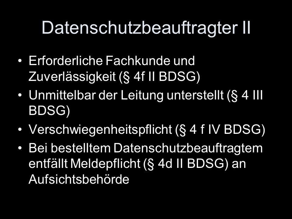 4.Art. 12 Buchst. b und Art. 14 Abs. 1 Buchst.