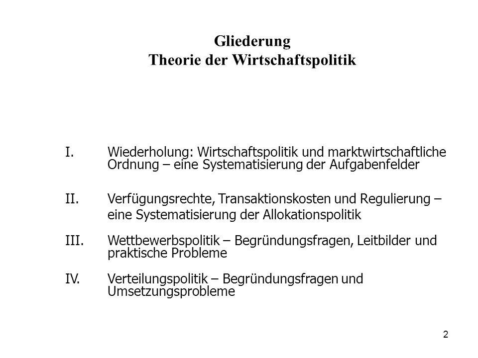 33 Elinor Ostrom (Nobelpreis 2009): auch andere Lösungen in Gruppen kleiner und mittlerer Größe (kleine Städte, Dörfer) denkbar und empirisch nachweisbar.