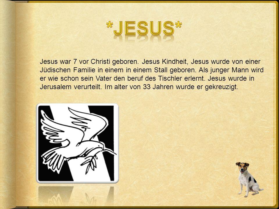 Die Christen glauben an Jesus und an Gott
