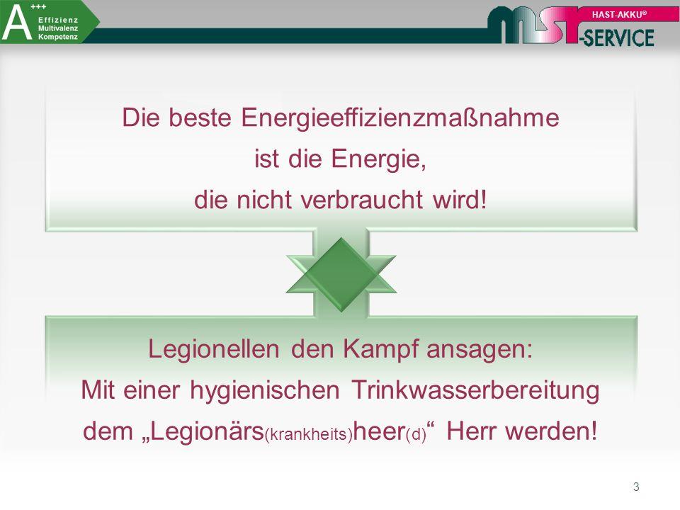 3 Die beste Energieeffizienzmaßnahme ist die Energie, die nicht verbraucht wird.