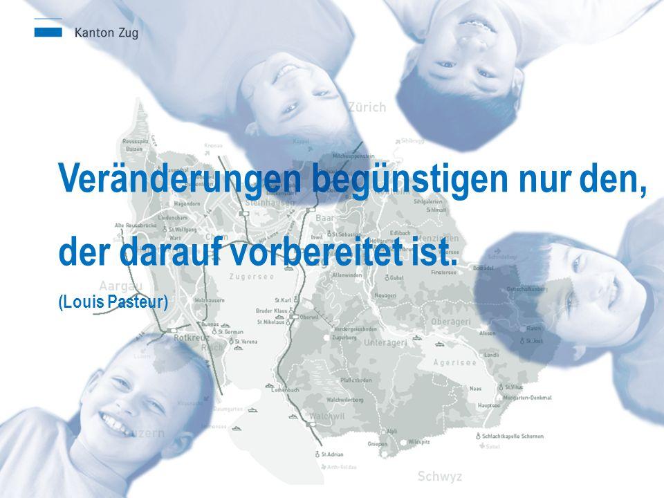 Veränderungen begünstigen nur den, der darauf vorbereitet ist. (Louis Pasteur)