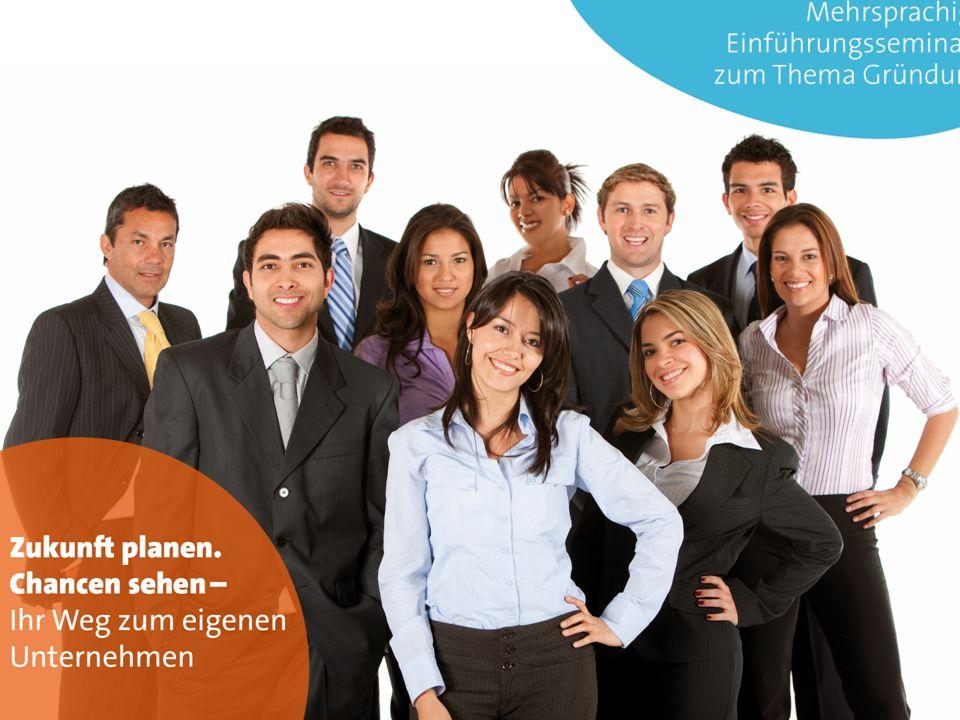 Masterfoliensatz Seminarreihe für Existenzgründer/-innen unterschiedlicher Herkunft GUWBI e.V.
