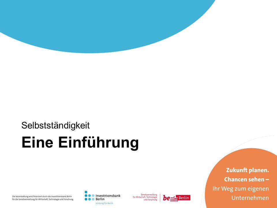 Selbstständigkeit in Deutschland 2012 waren in Deutschland – ohne Land- und Forstwirtschaft – rund 4,2 Millionen Personen selbstständig.