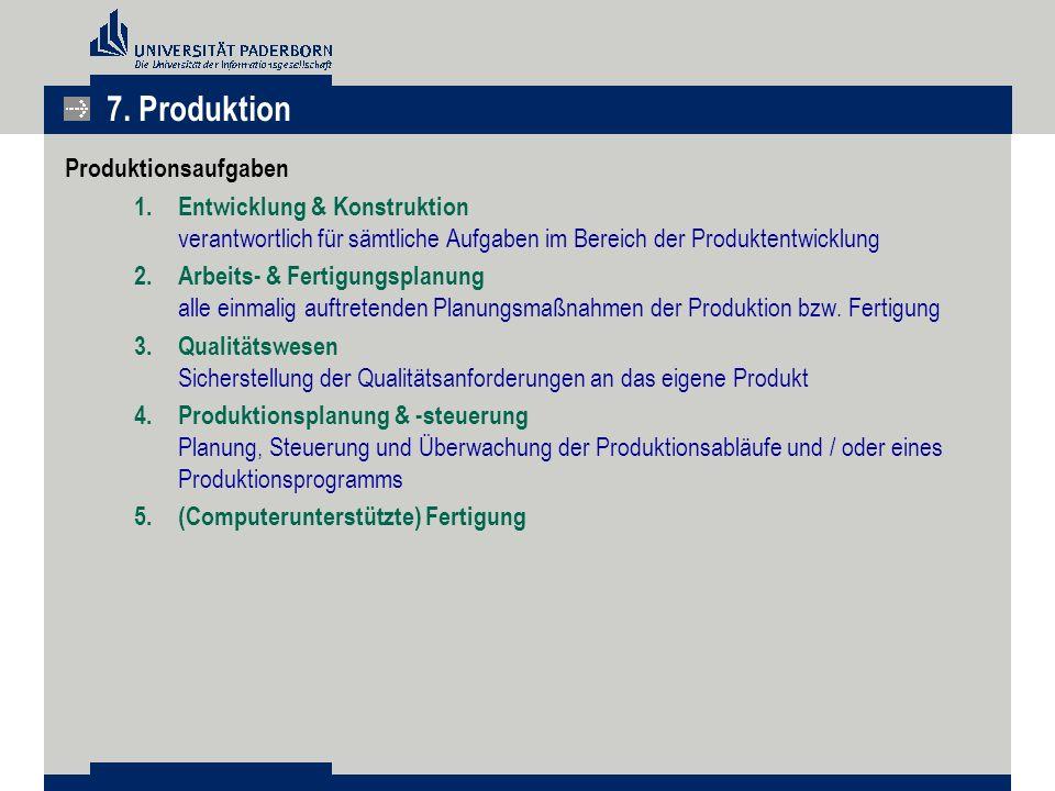 Produktionsaufgaben 1.Entwicklung & Konstruktion verantwortlich für sämtliche Aufgaben im Bereich der Produktentwicklung 2.Arbeits- & Fertigungsplanun