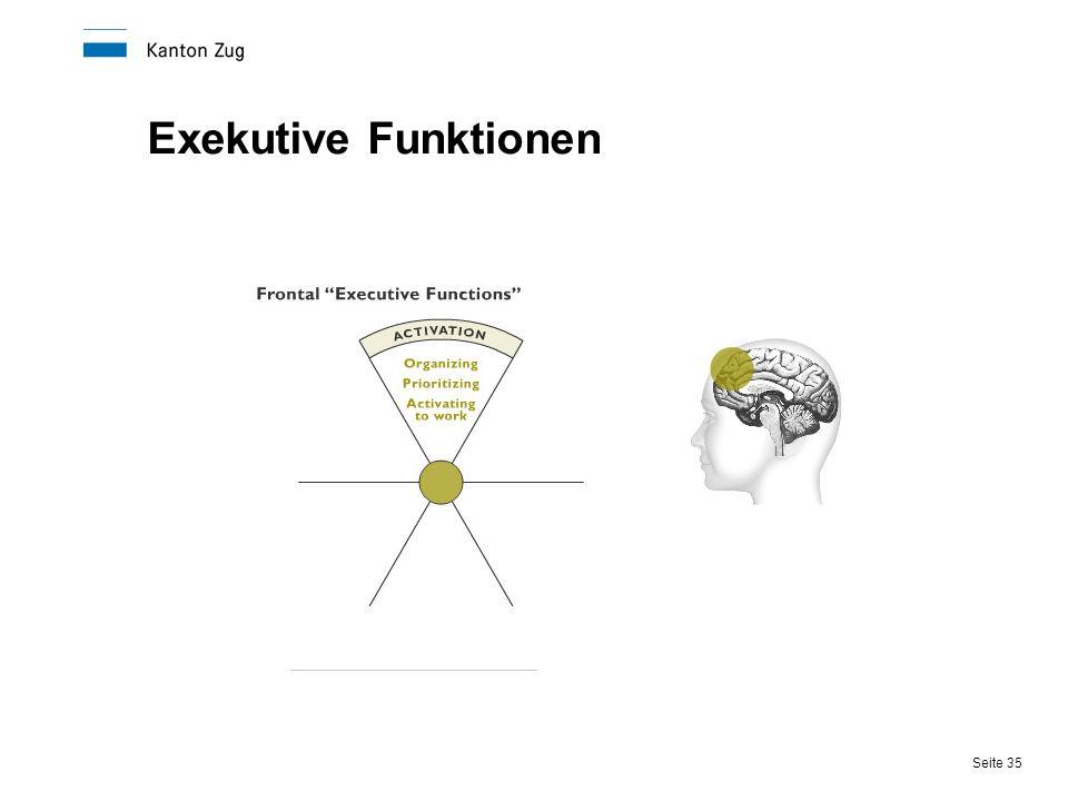 Seite 35 Exekutive Funktionen