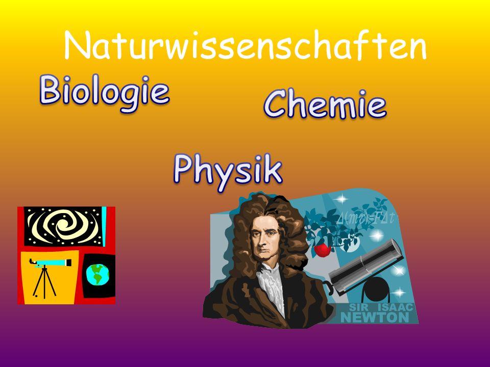 Naturwissenschaften.