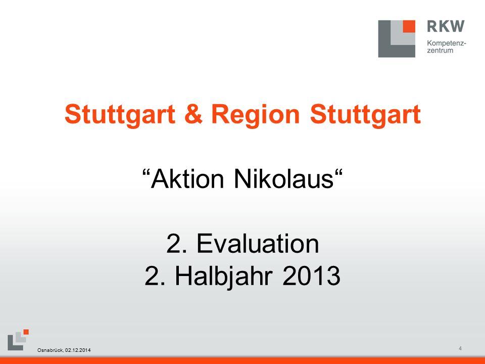 RKW Kompetenzzentrum Masterfolie Juni 20085 Stuttgart & Region Stuttgart Osnabrück, 02.12.2014