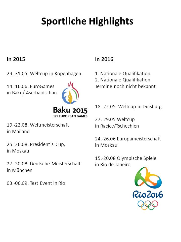 Internationale Erfolge 2015 Weltmeisterschaft in Mailand/Italien 1.