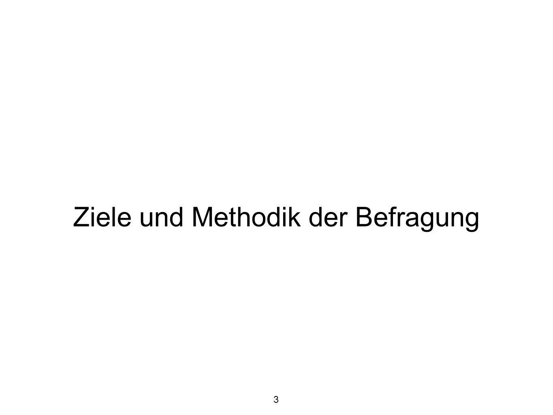 Ziele und Methodik der Befragung 3