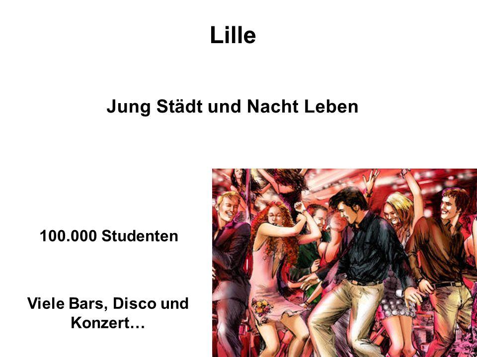100.000 Studenten Jung Städt und Nacht Leben Viele Bars, Disco und Konzert…