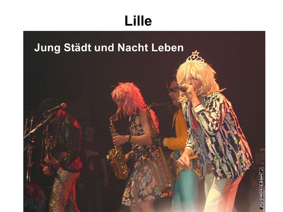 Lille Jung Städt und Nacht Leben