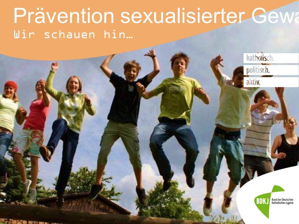 27.10.2015 12 Prävention sexualisierter Gewalt in der Jugendarbeit 1.Junge Menschen stark machen 2.