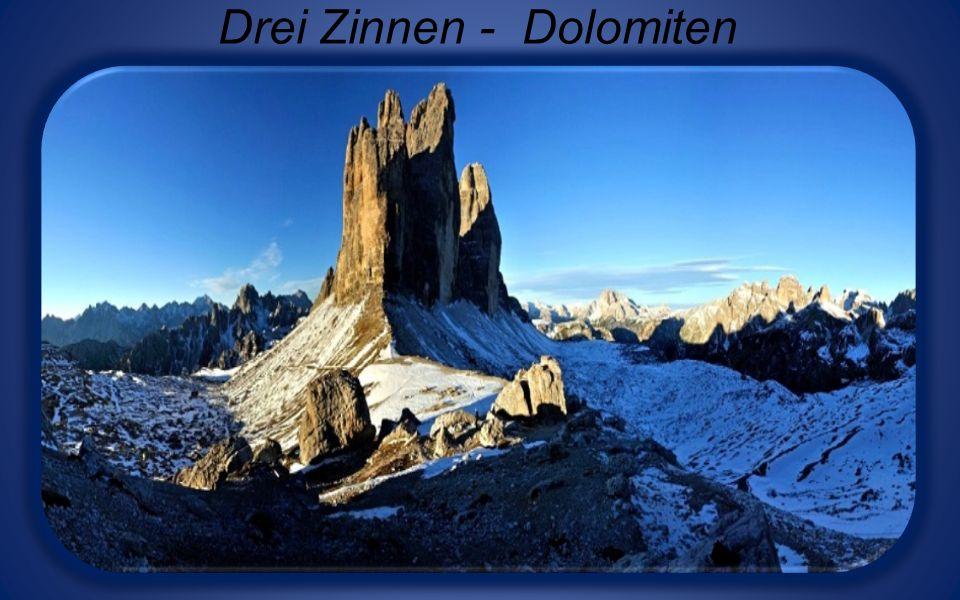 Sellastock und Langkofel - Dolomiten
