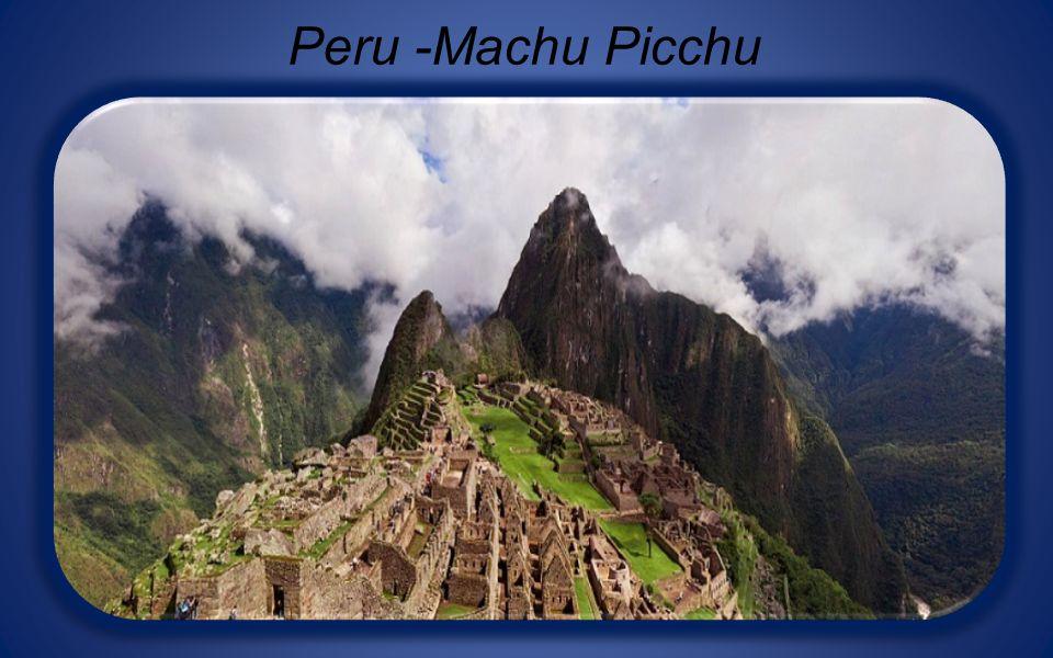 Peru -Machu Picchu