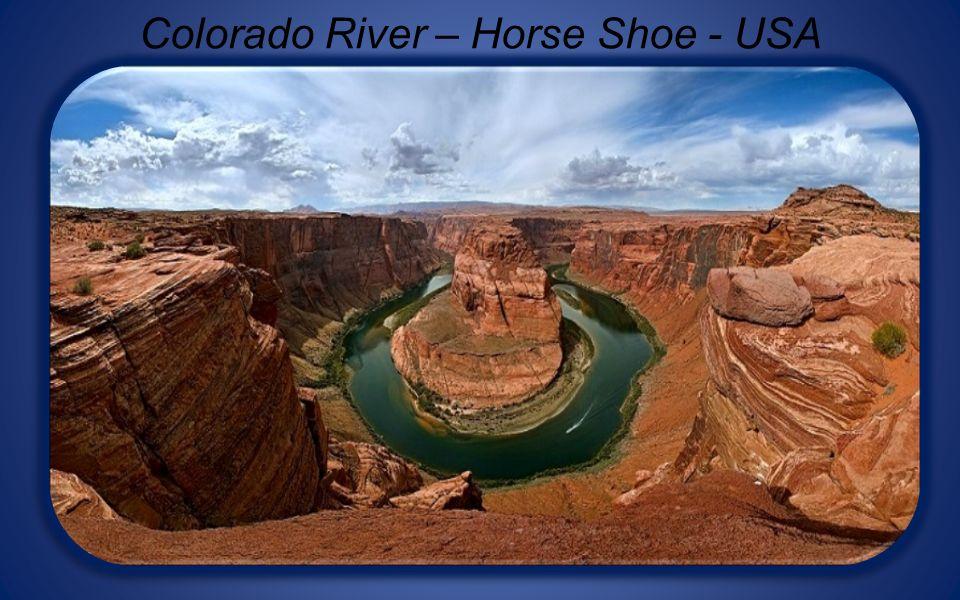 Colorado River – Horse Shoe - USA