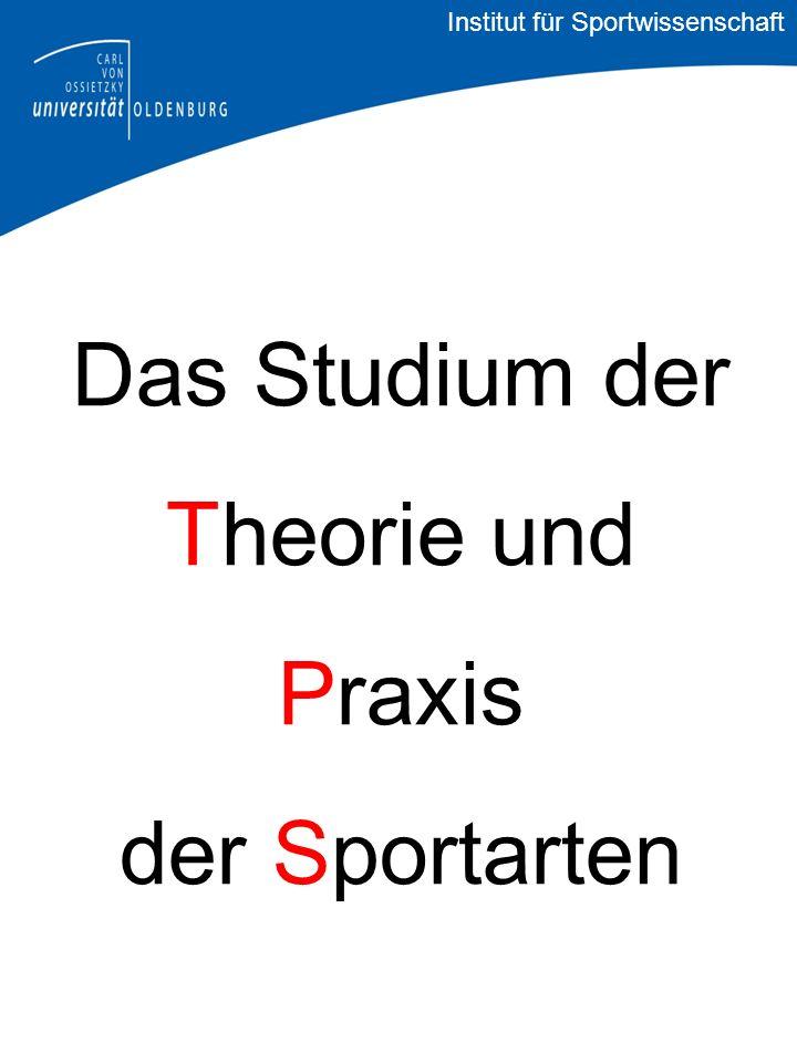 Viel Erfolg im Studium! Institut für Sportwissenschaft ?