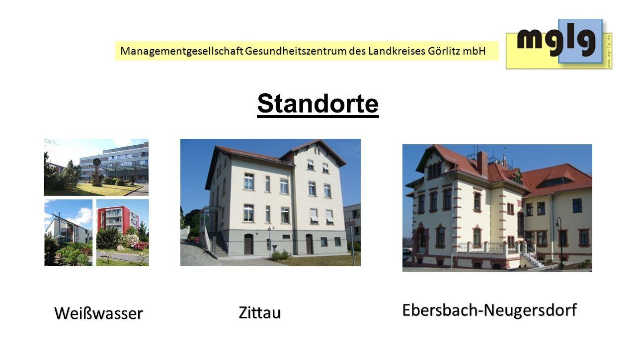 Managementgesellschaft Gesundheitszentrum des Landkreises Görlitz mbH Struktur/ Abteilungen