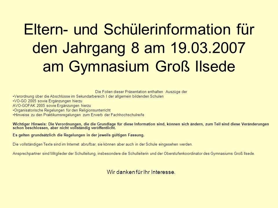 § 9 Versetzung in die Qualifikationsphase (1) 1 Im Gymnasium und … richtet sich die Versetzung in die Qualifikationsphase nach der Durchlässigkeits- und Versetzungsverordnung.