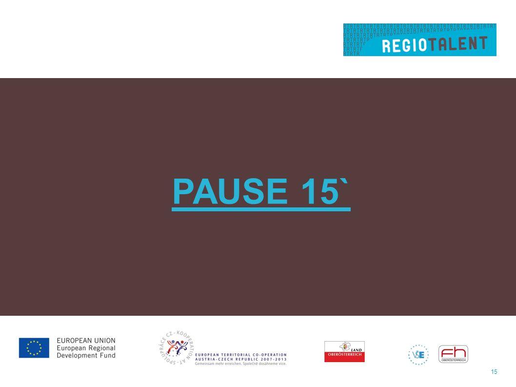 15 PAUSE 15`