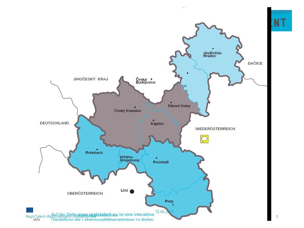 RegioTalent –Regionalisation without borders6 12.06.2013
