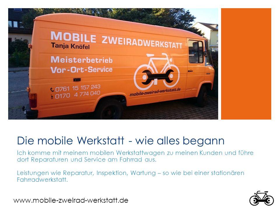 www.mobile-zweirad-werkstatt.de Referenzen Sick AG Liebes Pedelec Team, vielen Dank für die Organisation des Fahrrad- Inspektionstages bei SICK, das war eine super Idee Viele Grüsse.
