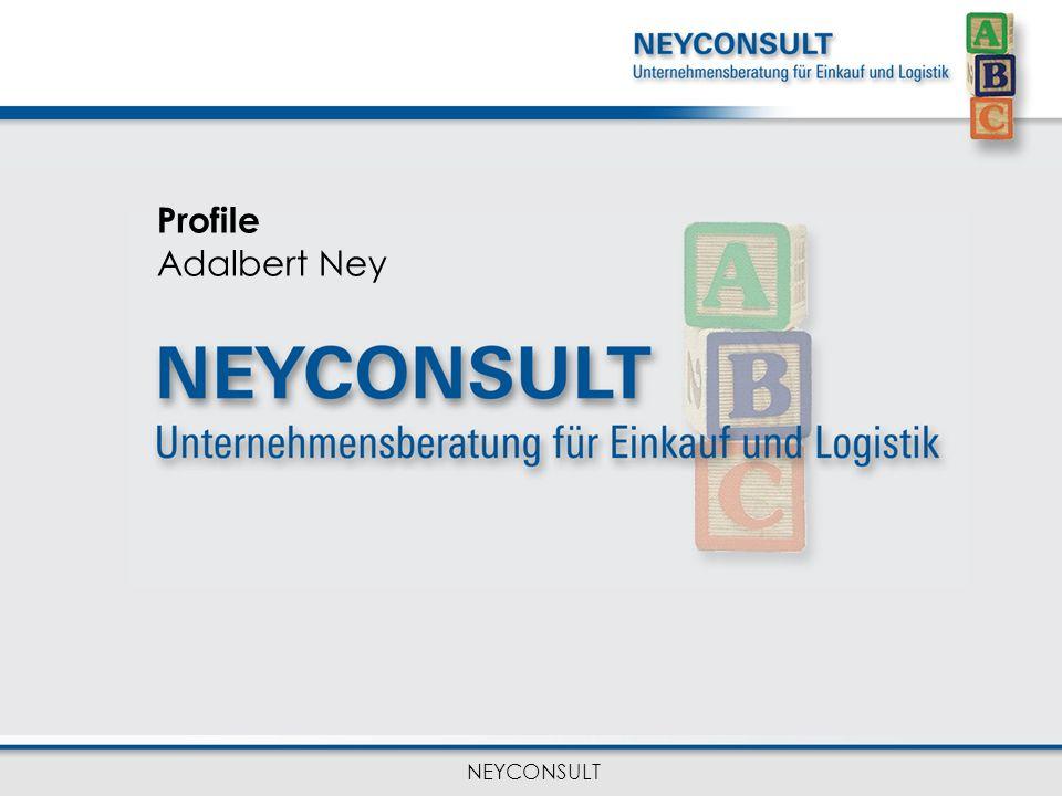 NEYCONSULT Profile Adalbert Ney