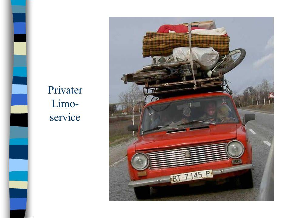 Privater Limo- service