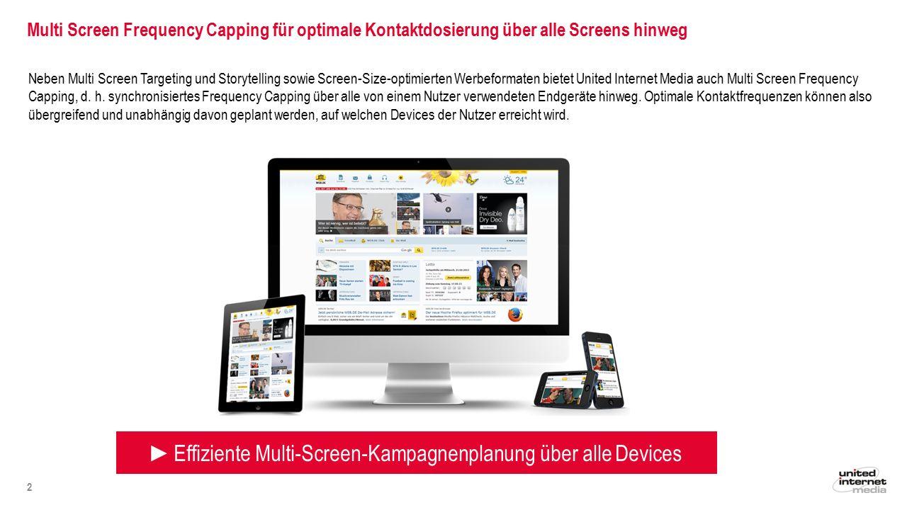 Wie wird Multi Screen Frequency Capping technisch ermöglicht.